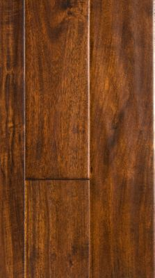 "7/16"" x 4-3/4"" Golden Teak Acacia Easy Click"